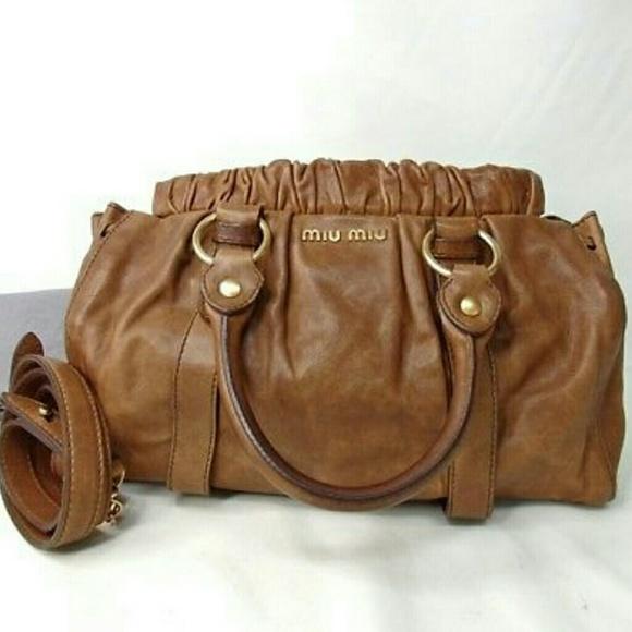 Miu Miu Prada Vitello Lux Calfskin 2way tote bag. M 5ad38ed19d20f09a8acd87b1 085ace3f1d219